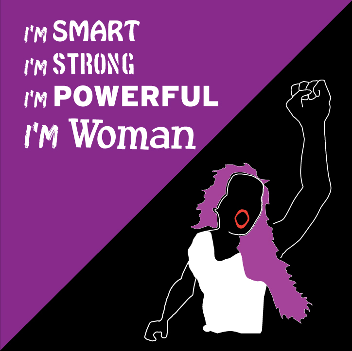 Poster of the Smart, Strong, Powerful Woman.