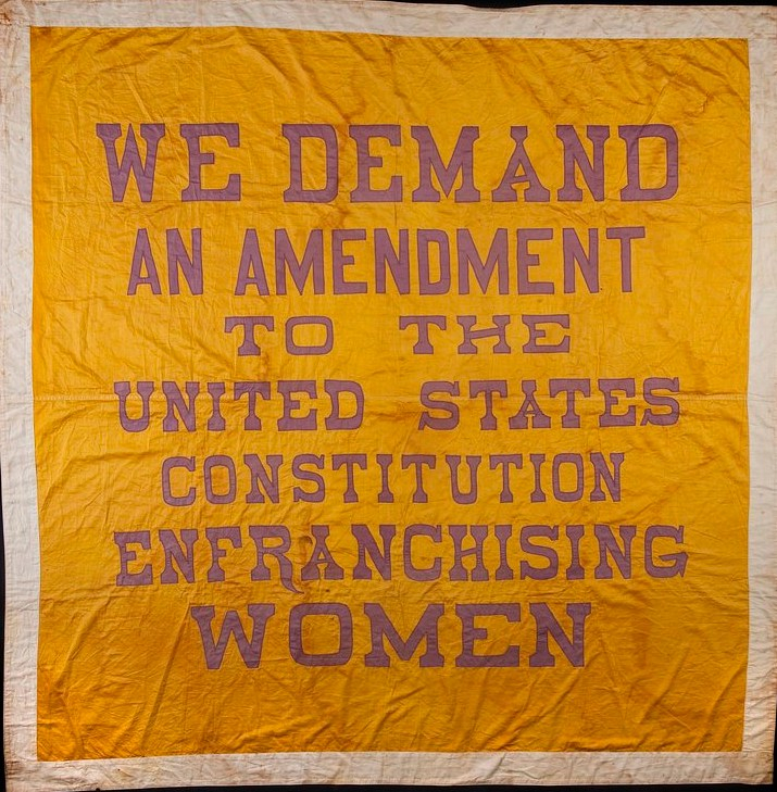 Women's Suffrage Banner 1914 - 1917