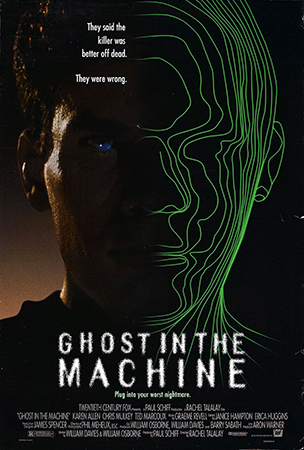 Movie Poster - Ghost in the Machine