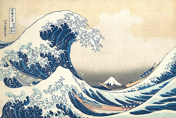 The Great Wave - Katsushika Hokusai