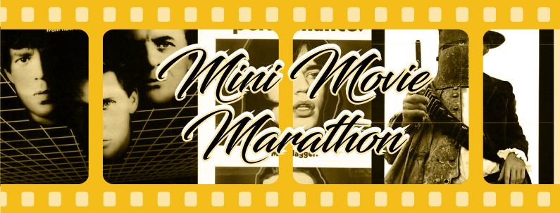 Banner of Mick Jagger Movies for Mini Movie Marathon