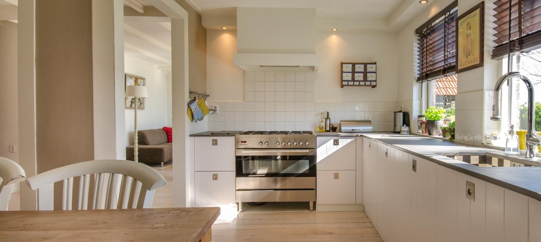 Banner of a beige kitchen
