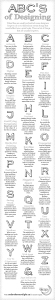 Infographic /ABC's Of Designing