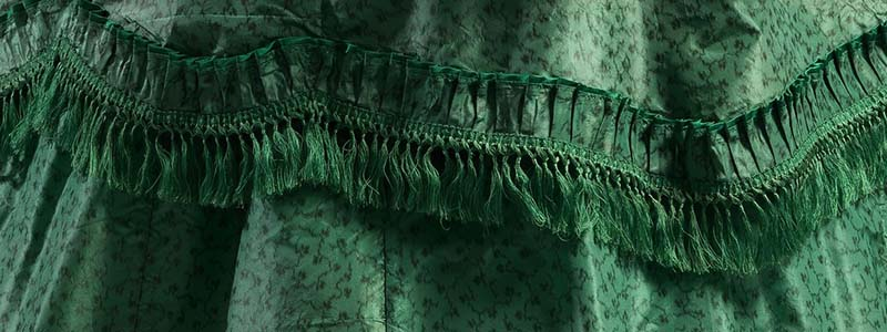 Banner of Arsenic Green Fabric