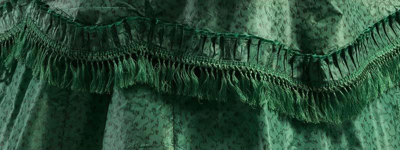 Banner of Arsenic Green Fabric