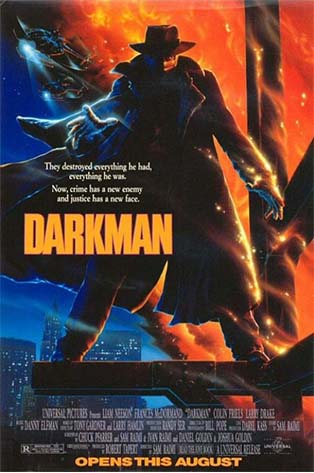Poster of Darkman 1990