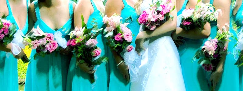 Banner of Bridesmaids in Seafoam Green