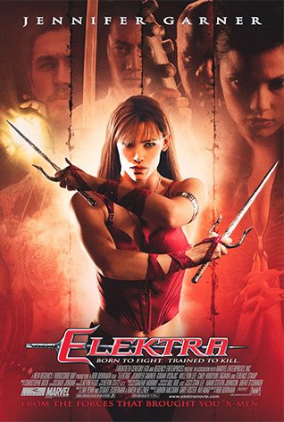Movie poster for Elektra - 2005