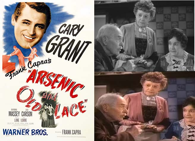 Arsenic and Old Lace Movie Poster and Movie Stills