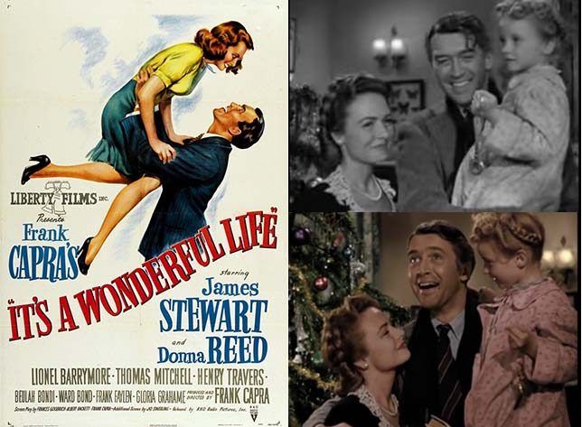 It's A Wonderful Life Movie Poster and Movie Stills