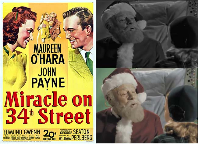 Miracle on 34th Street Movie Poster and Movie Stills