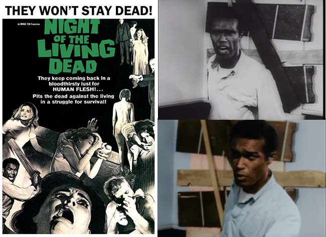 Night of the Living Dead Movie Poster and Movie Stills