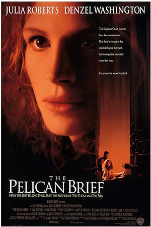 Movie Poster of The Pelican Brief