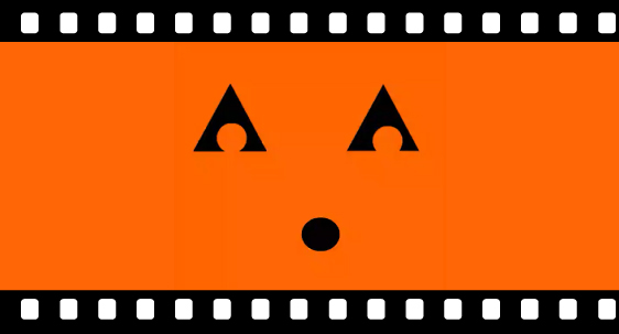 Banner of a jack-o-lantern