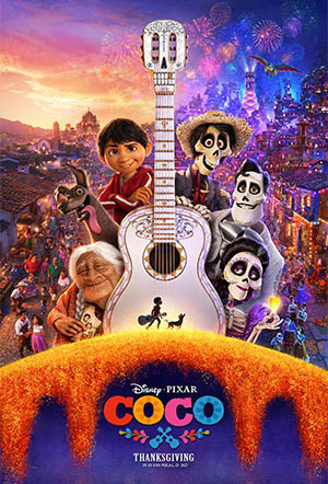 Movie poster of Coco (2017)