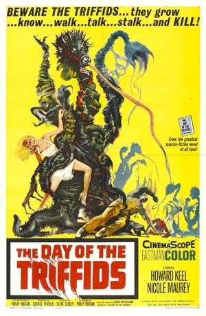 Movie poster of Day Of The Triffids