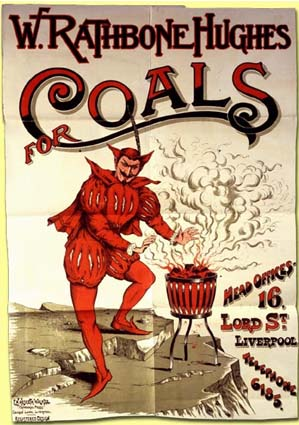 Advertisement for Coal - Source: UK National Archives