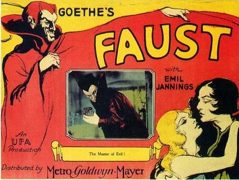 Movie poster of Faust (1926)