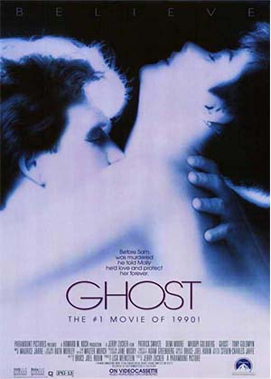 Movie poster for Ghost (1990)