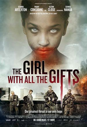 Movie poster to The Girl With All The Gifts