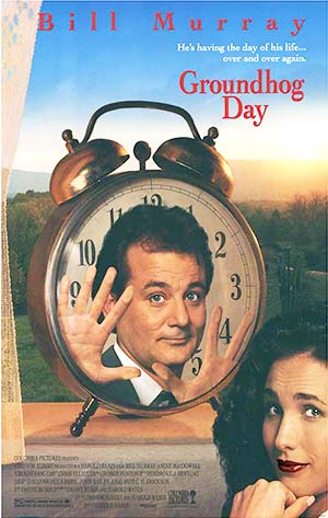 Movie poster for Groundhog Day (1993)