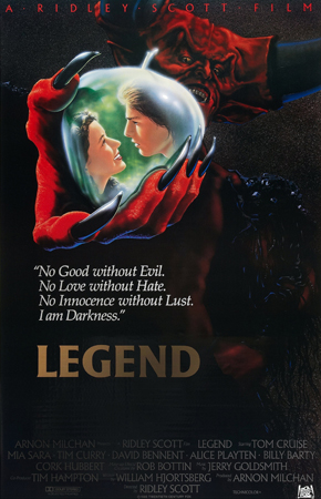 Movie poster of Legend (1985)