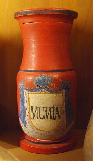 Image of Bottle of Mummia