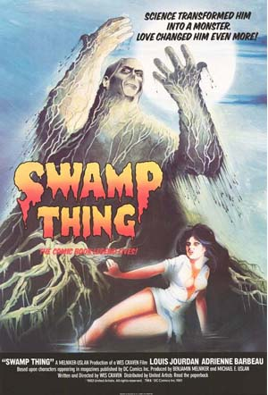 Movie Poster of Swamp Thing (1982)