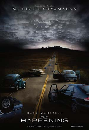 Movie poster of The Happening (2008)