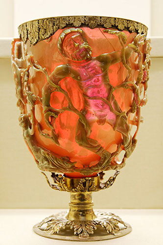 Lycurgus Cup after illumination