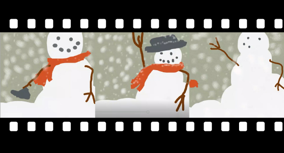 Banner for Snowman Video