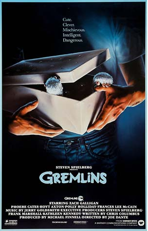 Movie poster of Gremlins