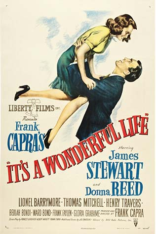 Movie poster of It's A Wonderful Life