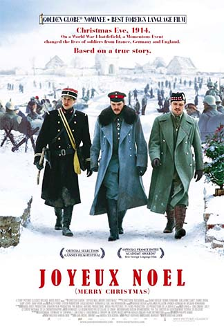 Movie poster for Joyeux Noel (Merry Christmas)