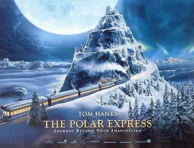 Movie poster for Polar Express