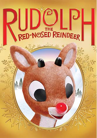 Movie poster for Rudolph the Red Nose Reindeer