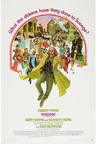 Movie Poster of Scrooge (1970)