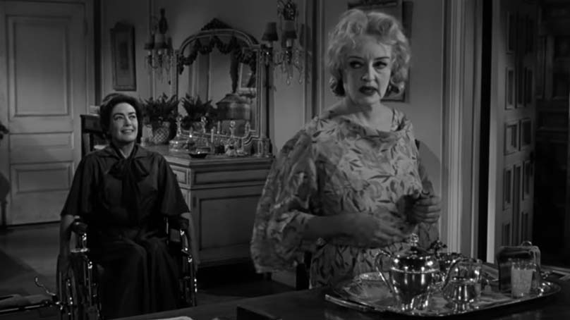 Screenshot of Whatever Happened to Baby Jane (1962).