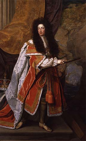 Painting of WIlliam of Orange, William III