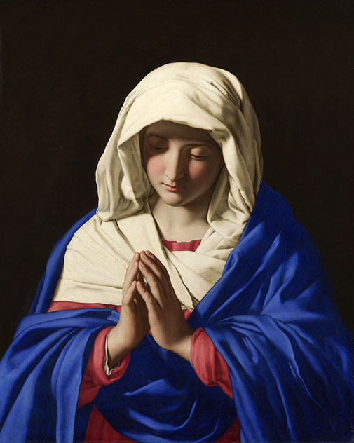 Sassoferrato, The Virgin in Prayer, c. 1640-1650