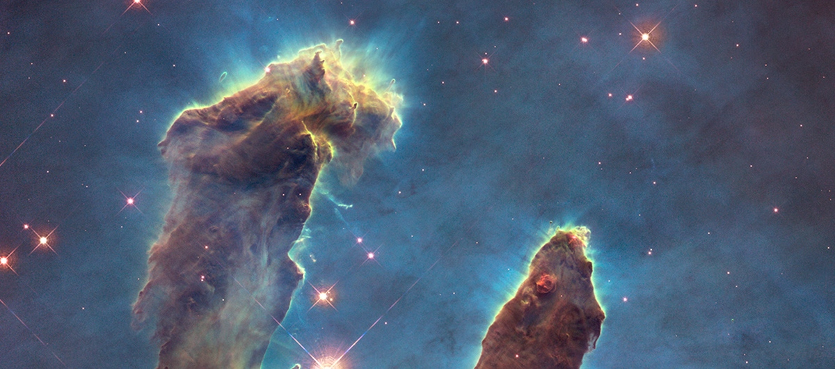 Banner of the PIllars of Creation