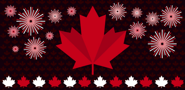 Banner for Canada Day