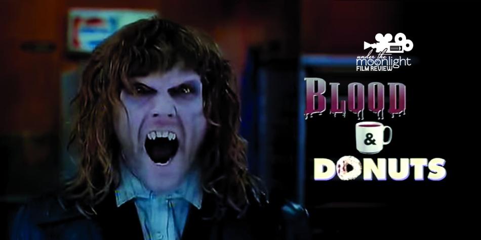 Vampire growling.